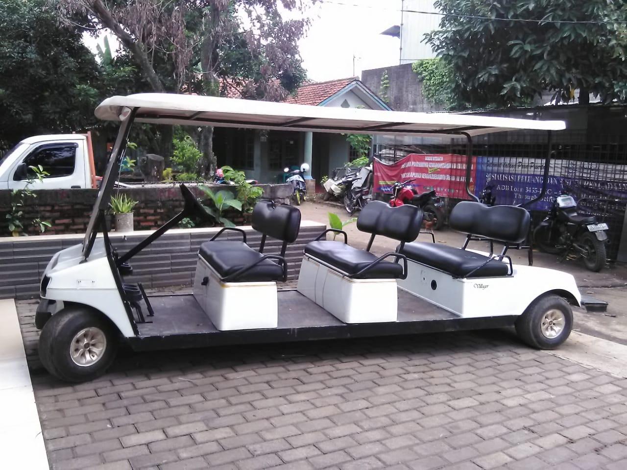 jual mobil golf listrik bekas